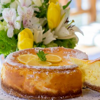 Lemon Ricotta Cheesecake is Perfect for Easter