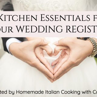 12 Kitchen Essentials for Your  Wedding Registry