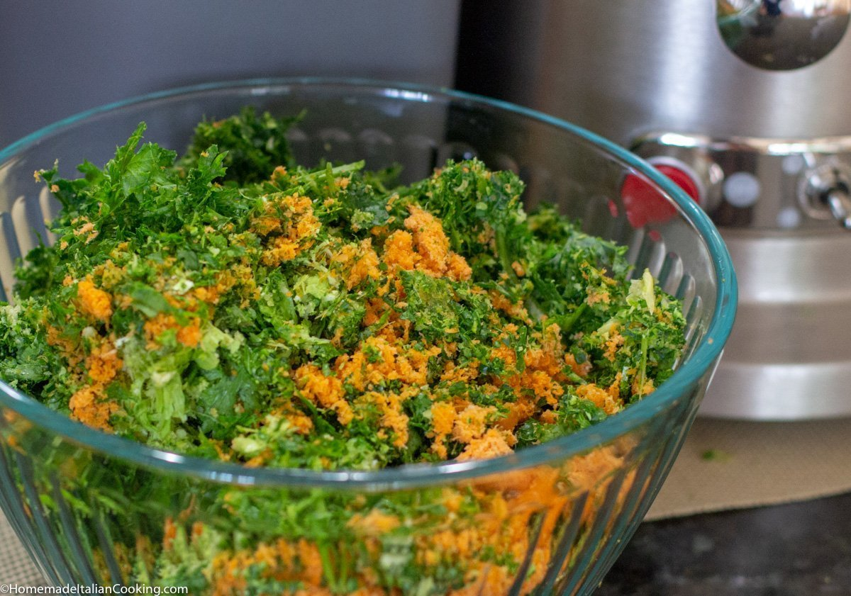 Vegetable Juicer Pulp