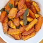 Sweet Potato Gnocchi Fried in Brown Butter