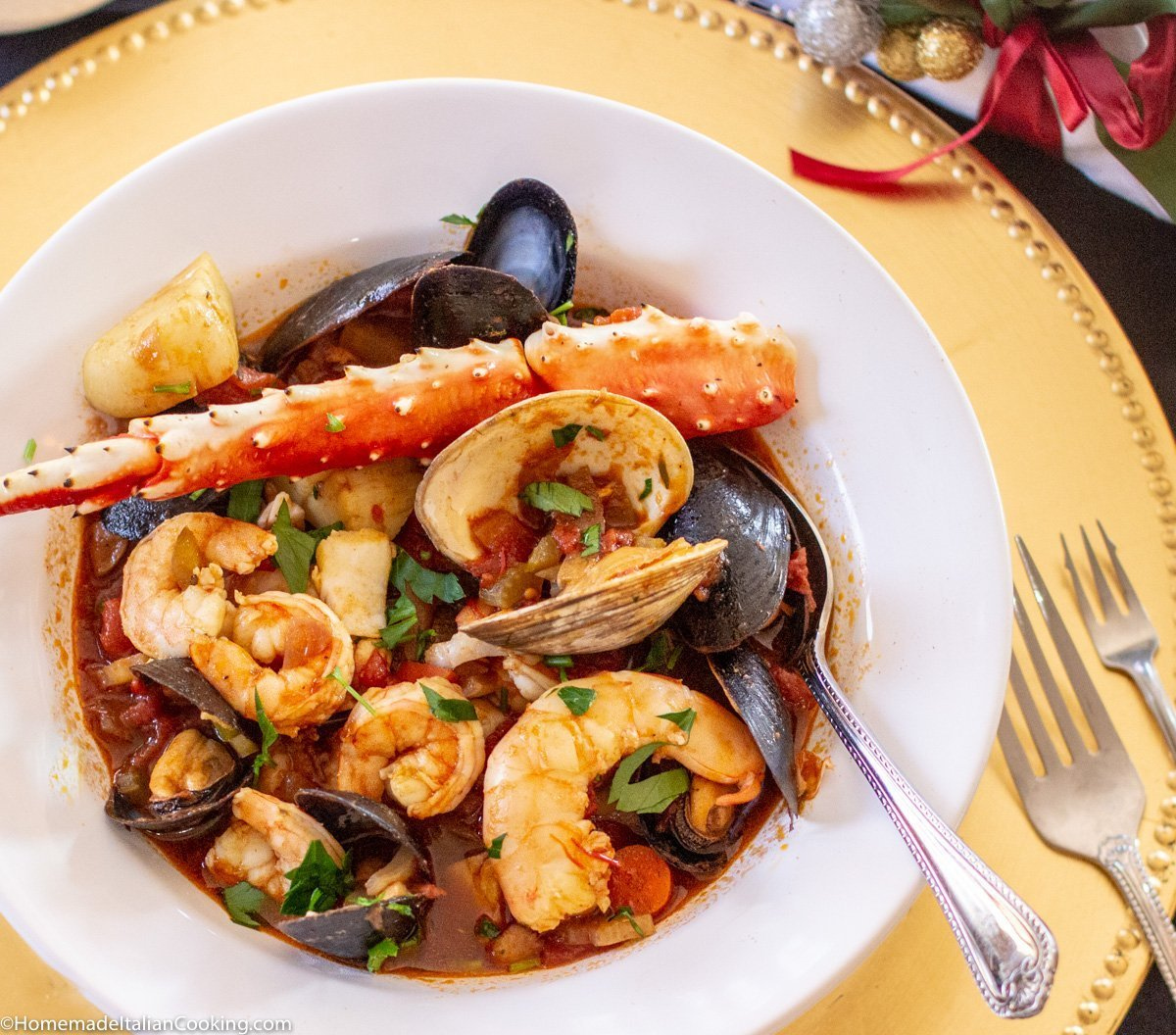 Cioppino A Special Occasion Italian Seafood Soup For Christmas Eve Homemade Italian Cooking