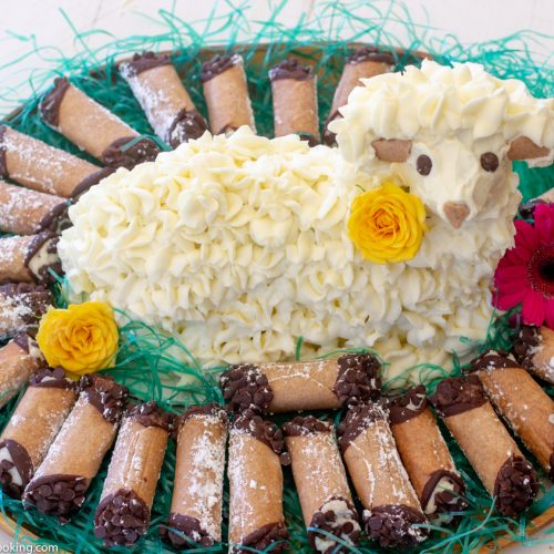 Cannoli Lamb Cake For Easter Homemade Italian Cooking