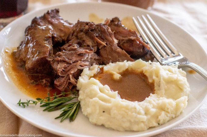 Oven Braised Pot Roast