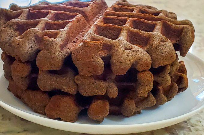 Buckwheat Gingerbread Waffles