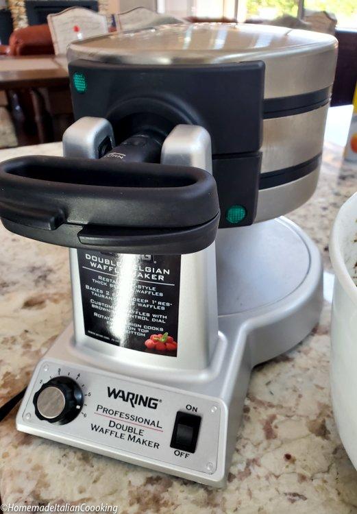 Waring Pro Double Waffle Iron
