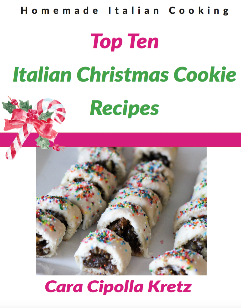 Top ten italian christmas cookies by cara homemade italian cooking top ten italian christmas cookies forumfinder Gallery