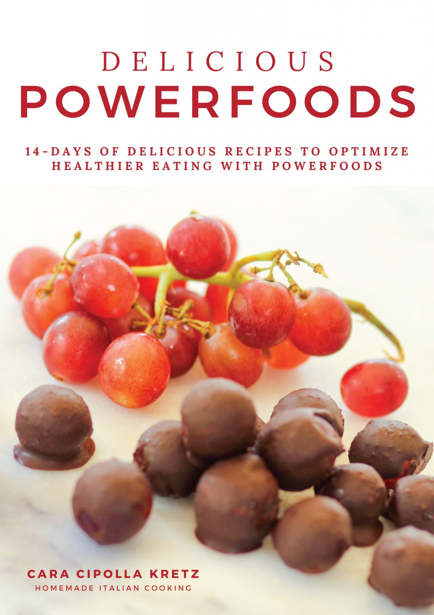 Delicious Powerfoods Cookbook Ad